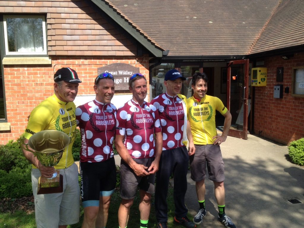 Tour of the Abberleys 2018 overall and KoM winners