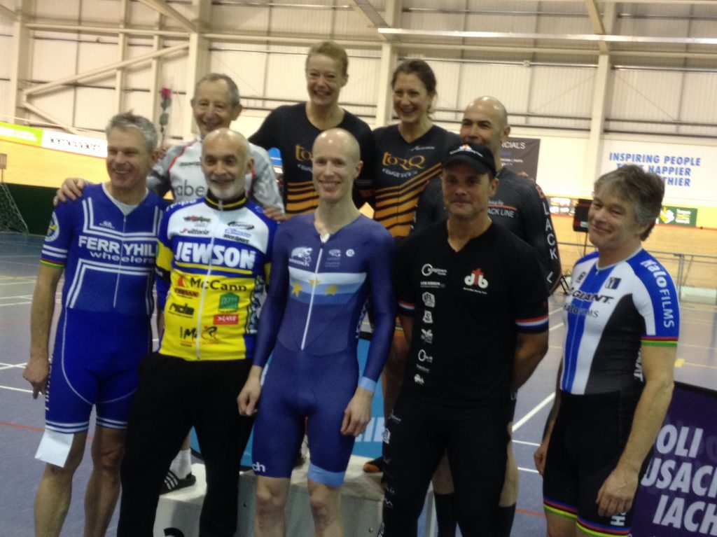 Omnium 2018 age category winners